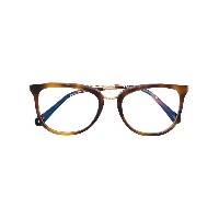 Chloé Eyewear square glasses - ブラウン