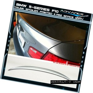 エアロパーツ 11-16 BMW 5-Series F10 Sedan Trunk Spoiler OEM Painted Color # A52 Space Gray 11-16 BMW...