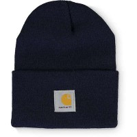 カーハート ニット Carhartt Watch Navy Beanie Navy