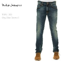 【SALE】Nudie Jeans(ヌーディー・ジーンズ) TAPE TED Organic Blue Turmoil【送料無料】