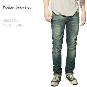 【SALE】Nudie Jeans(ヌーディー・ジーンズ)GRIM TIM Organic Gritty Blue