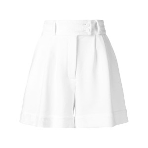 Styland high-waisted shorts - ホワイト
