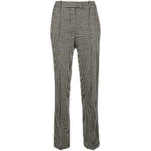 Ermanno Scervino dogtooth tailored trousers - ホワイト