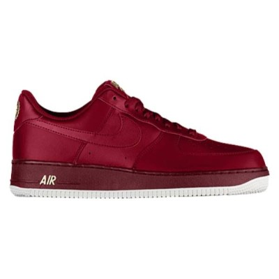 ナイキ メンズ バスケットボール シューズ・靴【Air Force 1 Low】Team Red/Team Red/Summit White/Metallic Gold