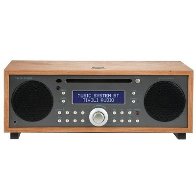 【送料無料】Tivoli Audio MSYBT-1530-JP Tivoli Music System BT Taupe/Cherry [Bluetooth対応ミニコンポ]【スーパーSALEサーチ...