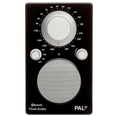 【送料無料】Tivoli Audio PALBT-1448-JP Tivoli PAL BT Glossy Black [Bluetoothワイヤレス AM/FMラジオスピーカー]