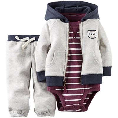 Carter's PANTS ベビー・ボーイズ 3 Months グレー