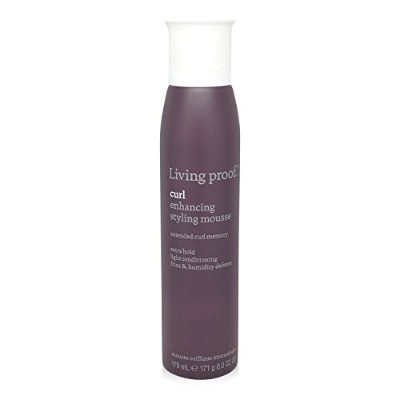 Living Proof Curl Enhancing Styling Mousse for Unisex, 6 Ounce by Living Proof