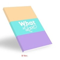 Music Twice-[What is Love]5th Mini Album B VER CD+Poster+etc+