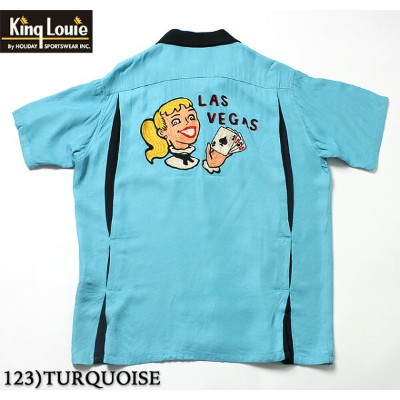 "King Louie by HolidayRAYON S/S Bowling Shirt""LAS VEGAS""Style No.KL37833"