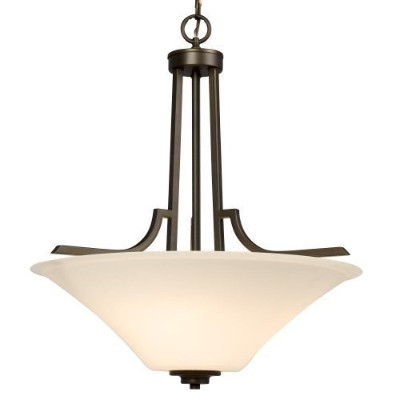Galaxy Lighting 910751ORB 3 Light Franklin Bowl Large Pendant by Galaxy Lighting