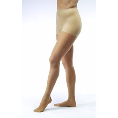 JOBST UltraSheer 8-15 mmHg Closed Toe Waist Support Stocking, Sun Bronze, Small by Jobst