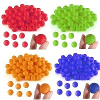 100PCS Round Balls For Nerf Rival Zeus Apollo Refill Toys Compatible Gun Bullet New
