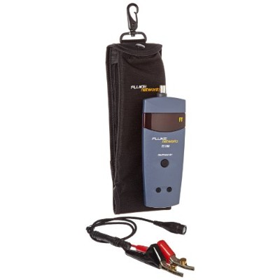 Fluke Networks 26500390 TS100 Kit with Case, BNC to ABN Linecord for TS100 Cable Fault Finder by...