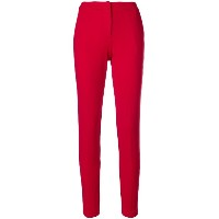 Blugirl high waisted trousers - レッド