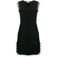 Blugirl lace trim sheath dress - ブラック