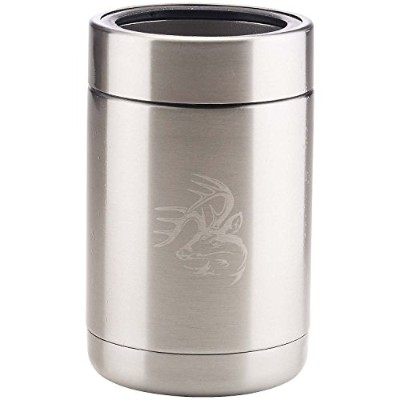 Legendary Whitetails Chill Out Insulated Can Cooler Steel