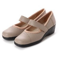 【SALE 30%OFF】ドクター ショール Dr.Scholl Scholl Soft Fit Belt Pumps (Taupe) レディース