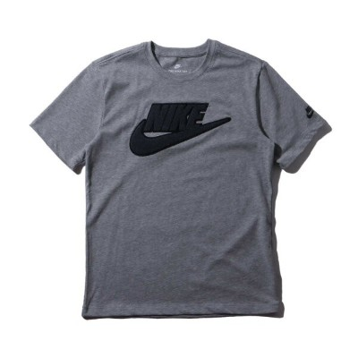 NIKE AS M NSW TEE ARCHIVE 1(ナイキ アーカイブ Tシャツ 1)DK GREY HEATHER/ANTHRACITE【メンズ Tシャツ】18FW-I