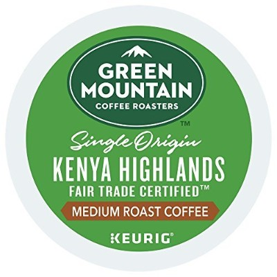 Green Mountain Coffee Extra Bold Kenyan AA -- 96 K-Cups by Green Mountain Coffee