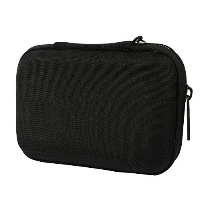 Khanka EVA Hard Case Carry Bag Cover for Western Digital WD My Passport Ultra,Elements SE/Toshiba Canvio/Seagate Backup /Transcend 2TB External Hard Drive,Kingston MLWG2,RAVPower FileHub (Black) [並行輸入品]