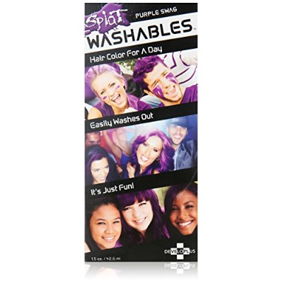 SPLAT Washables 1.5 Fl Oz, Purple Swag, by Splat