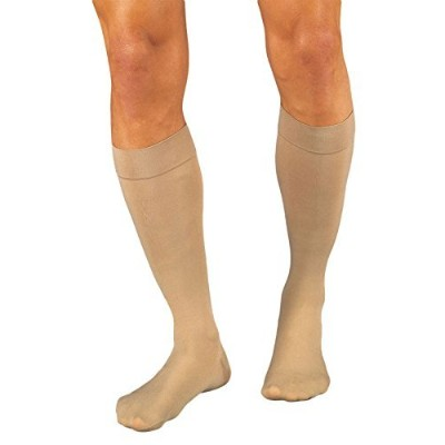 Relief Therapeutic Knee High Support Stockings, 30 - 40 mmHg - Medium - Closed Toe by Jobst