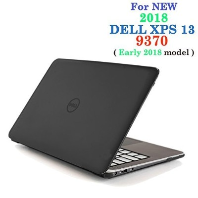 iPearl mCoverハードシェルケース 2018年初期用 15 Inches mCover-DELL-XPS13-9370-BLACK