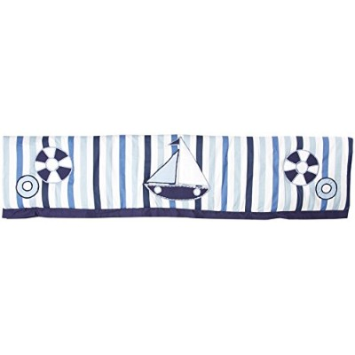 Little Sailor Blue Crib Rail Protector by Bacati