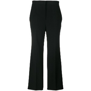 Fendi cropped flared trousers - ブラック