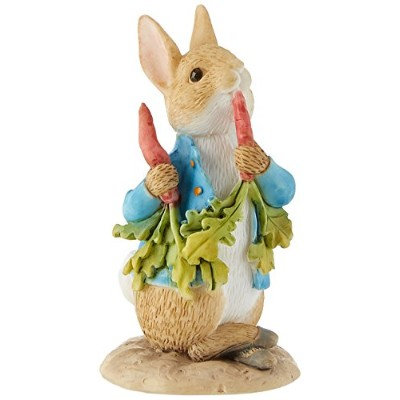 Beatrix Potter Peter Ate Some Radishes Ornament by Beatrix Potter