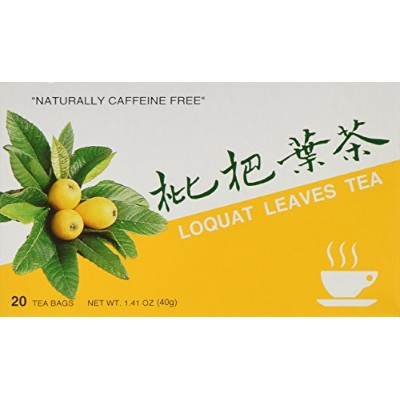 (20 Count) - 1 X Loquat Leaves Tea, 20 Teabags