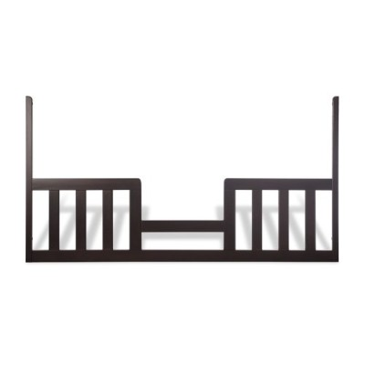 Child Craft London Toddler Guard Rail for London Euro Stationary Crib, Jamocha (Discontinued by...