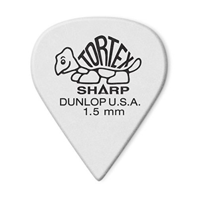 JIM DUNLOP 412 TORTEX SHARP 1.50 ギターピック×12枚