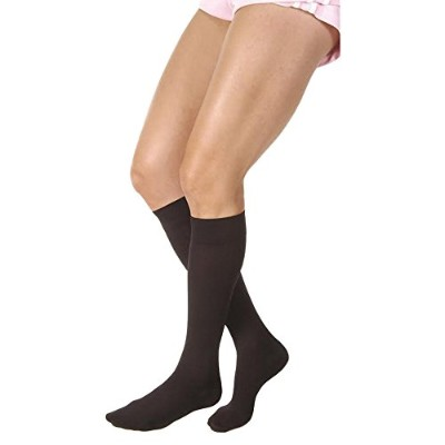 Jobst Relief Knee KNEE HIGH Firm Compression 20-30mmHg XL Classic Black, 114733 by Jobst