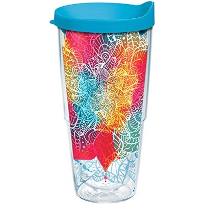 Tervis 1250503on Trend Tumbler with Wrap、24oz、クリア