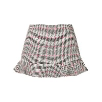Red Valentino Prince of Wales check mini skirt - ブラック