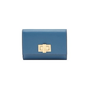 Fendi Peekaboo Selleria wallet - ブルー
