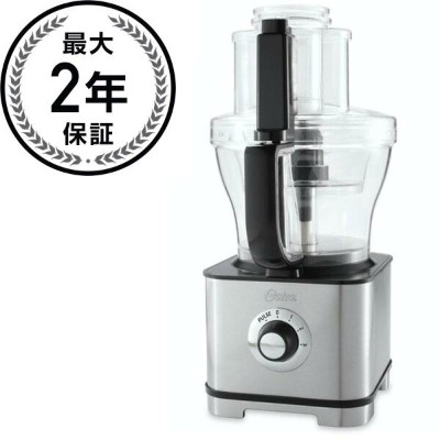 オスター フードプロセッサー 14カップ&5カップOster FPSTFP4253 14-Cup Food Processor with 5-Cup Mini Chopper, Stainless...
