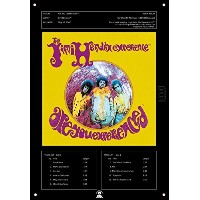 "Jimi Hendrix Experience "" Are You Experienced ""公式ライセンスCollector 's Tin Sign壁装飾"
