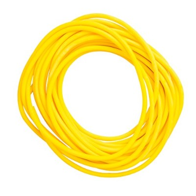 CanDo? Low Powder Exercise Tubing - 25' roll - Yellow - x-light