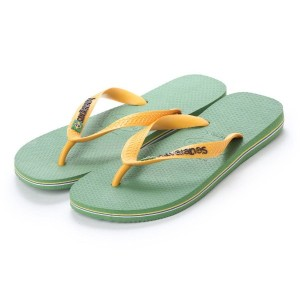 【SALE 20%OFF】ハワイアナス havaianas BRASIL LOGO (kids sizes) (green bamboo)