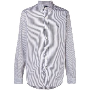 Polo Ralph Lauren hairline stripe buttondown shirt - ブラック