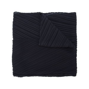 Pleats Please By Issey Miyake pleated scarf - ブラック
