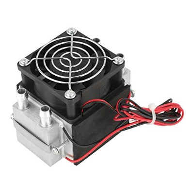 12V 240W 2 Core Semiconductor Refrigeration Thermoelectric Peltier Cooler DIY Air Cooling System