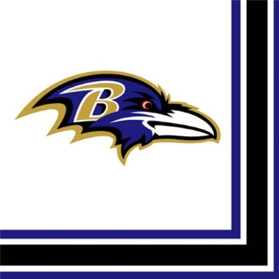 Baltimore Ravens 2-ply Party Napkins ( 16 Count )