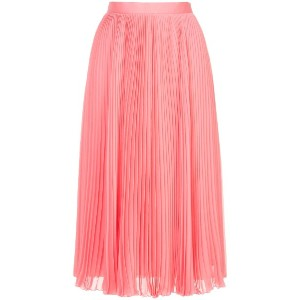 H Beauty & Youth pleated midi skirt - ピンク
