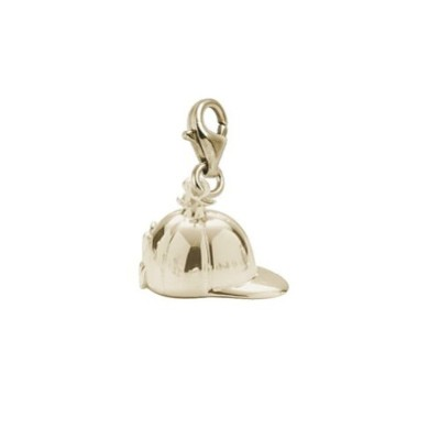 Riding Hat Charm with Lobster Claw Clasp、チャームブレスレットとネックレス用