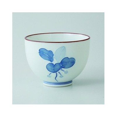波佐見焼 まんりょう 京仙茶 10客セット 湯呑 Japanese porcelain Hasami ware. Set of 10 manryo kyosencha teacups.