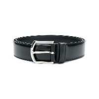 Church's buckle fastening belt - ブラック